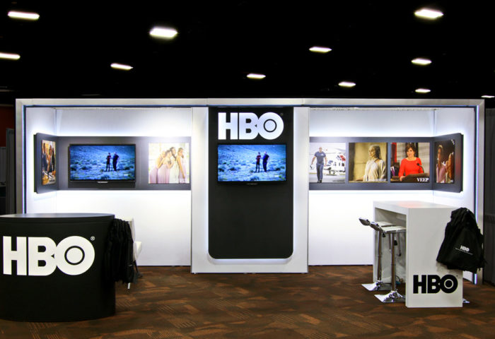 Custom Exhibits Inline HBO 1200