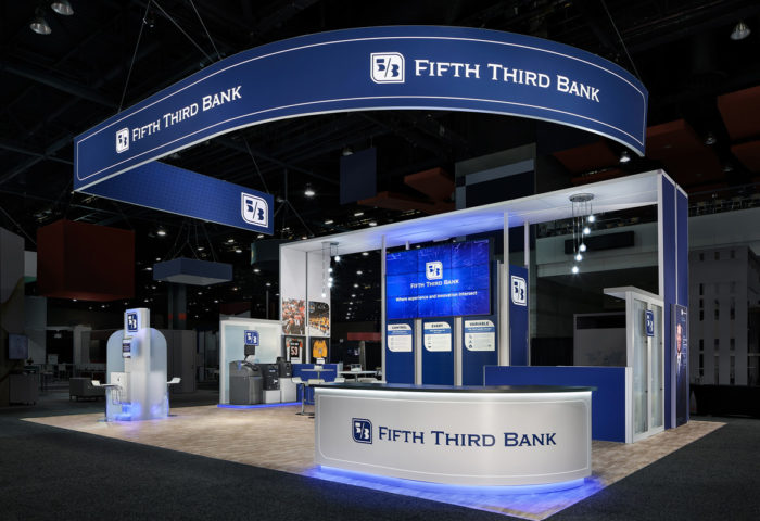 Custom Exhibits Island Fifth Third Bank 01 1200