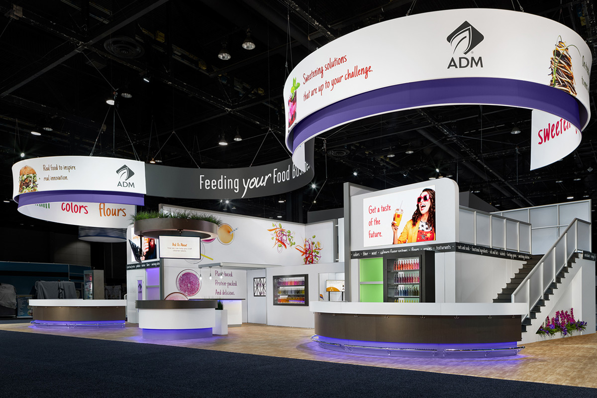 Trade Show Booth Objectives : Trade show strategy downing displays telling your story
